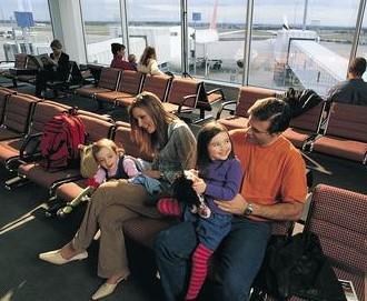 Долгое ожидание в аэропорту