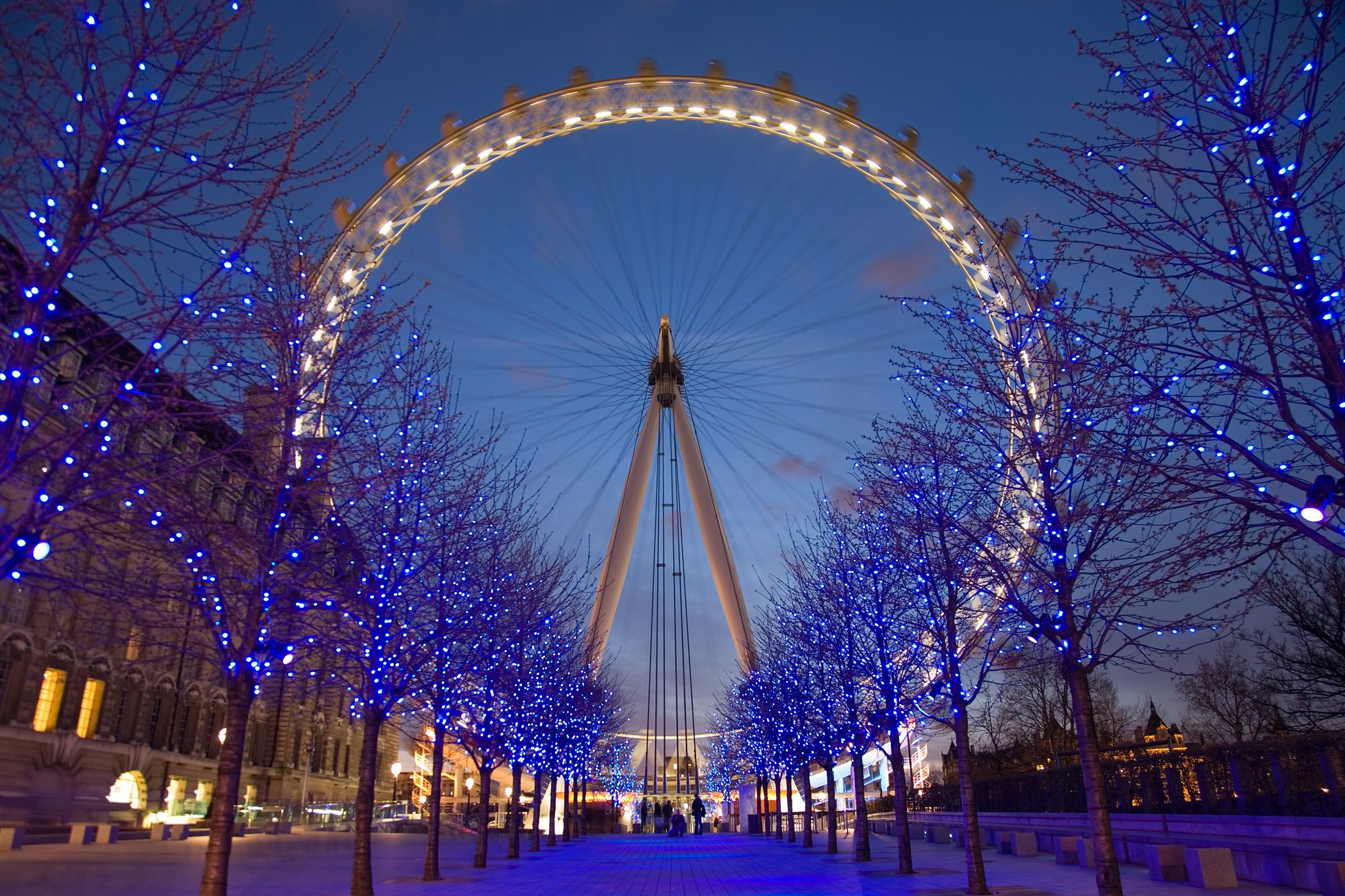За коледа и нова година лондон